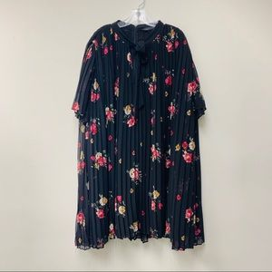 Zara Dresses - Zara Pleated Jumpsuit Dress — XL